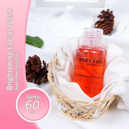 Foto Produk Brightening Toner Facial Wash Baby Pink Babypink dari Media Kasih
