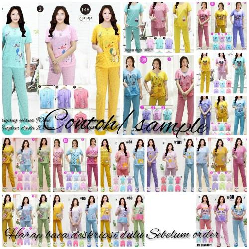 Foto Produk piyama baju tidur cp dari S & F fashion