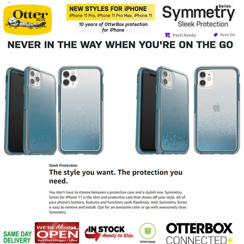 Foto Produk Case iPhone 11 Pro Max / 11 Pro / 11 Otterbox Symmetry WE'LL CALL BLUE - iPhone 11 Pro dari Spigen Indonesia