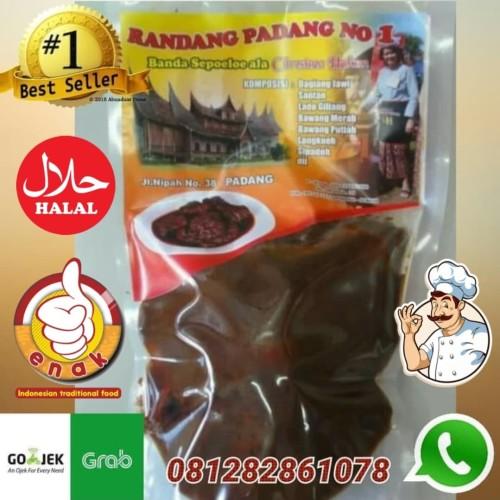 Foto Produk Rendang Basah christine Hakim 500gr/ Randang Daging/Randang Padang dari Super-ModeL