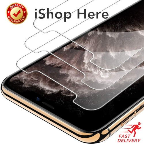 Foto Produk 3 Buah Premium Tempered Glass / Anti Gores iPhone X XS XR 11 Pro Max - XR - 11 dari iShop Here