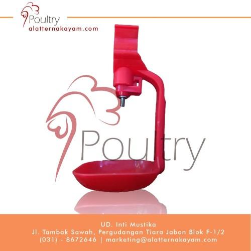 Foto Produk Nipple Drip Cup - Tempat Minum Ayam dari Alat Ternak Ayam
