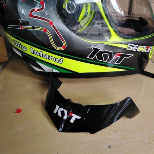 Foto Produk spoiler helm kyt R10,black dari @hendishop