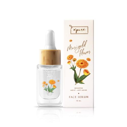 Foto Produk Npure Face Serum Marigold Series (Anti Aging Face Serum) dari Npure Official