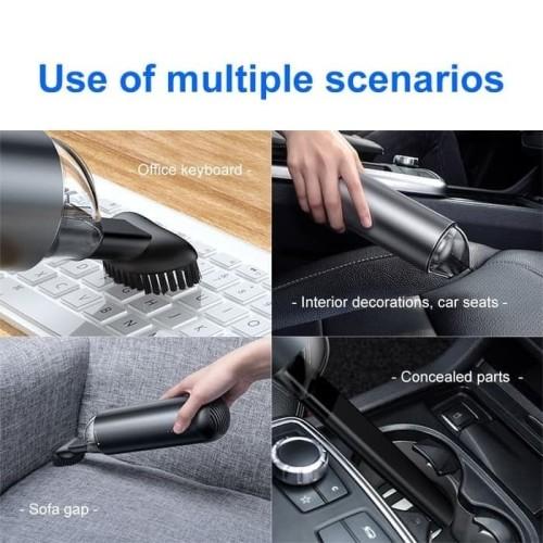 Foto Produk Baseus Vacuum Cleaner Portable Penyedot Debu Mobil Rechargeable - Hitam dari mix acc888