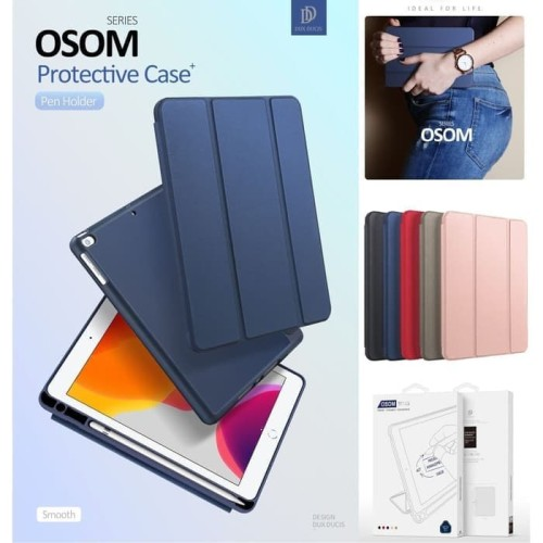 Foto Produk Case iPad 8 10.2 inch 8th-gen 2020 Dux Ducis Osom Series Cover Casing - Biru dari societyacc