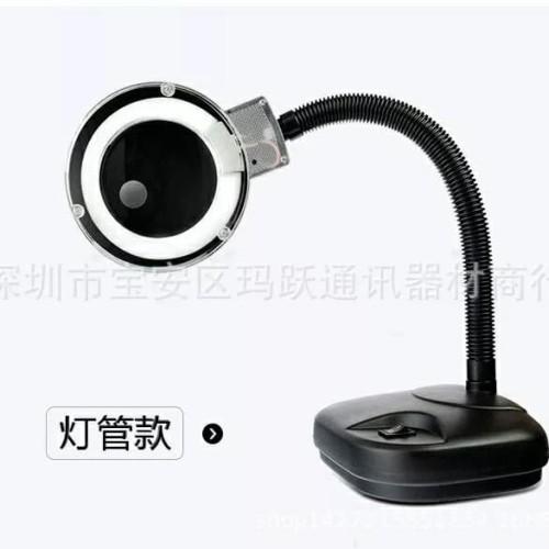 Foto Produk Magnifier Lamp / Lampu services + kaca pembesar dari printcomp sparepart