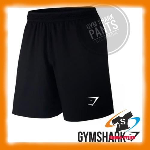 Foto Produk CELANA PENDEK GYM SHARK fitnes / Celana olahraga fitnes futsal sport dari shirostuff