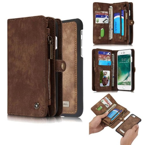 Foto Produk Caseme IPHONE 7 wallet card soft Case flip cover leather flipcover dari acosonic