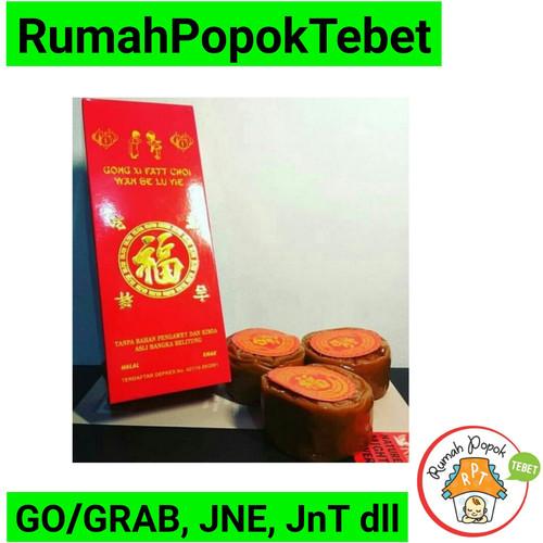Foto Produk kue keranjang / kue cina/ kue imlek asli belitung Homemade 1kg - isi 2 No Kotak dari rumah popok tebet