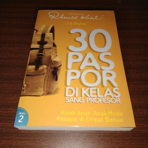 Foto Produk 30 Paspor di kelas sang profesor - buku 2 dari Ovlowinkel