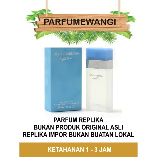 Foto Produk Parfume D&G Light Blue dari Parfume Wangi