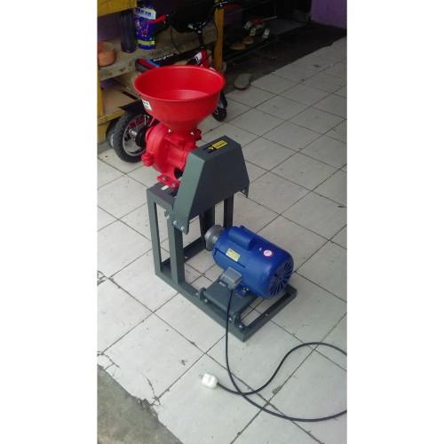 Foto Produk Mesin Grinder Kopi dinamo listrik model rangka 25kg perjam dari yash mesin