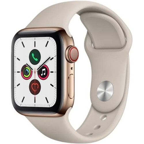 Foto Produk Apple Watch Series 5 GPS,40mm GOLD Aluminium Case MWV72ID/A dari jcb online