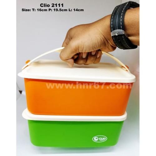 Foto Produk Tempat Makan Lunch Box Susun Clio Untuk Souvenir Tukar Kado dari HNR67