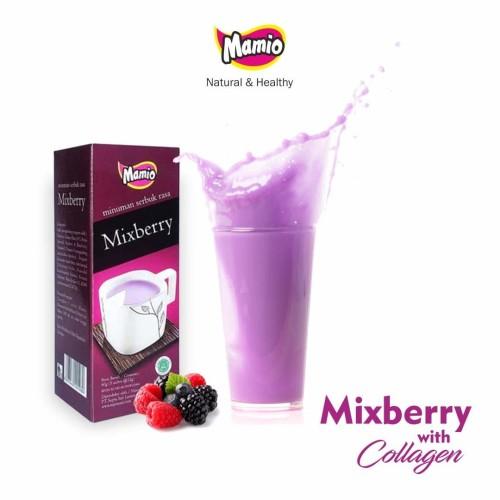 Foto Produk Minuman Serbuk Mamio Mixberry With Collagen dari CV. Herbal House Lestari