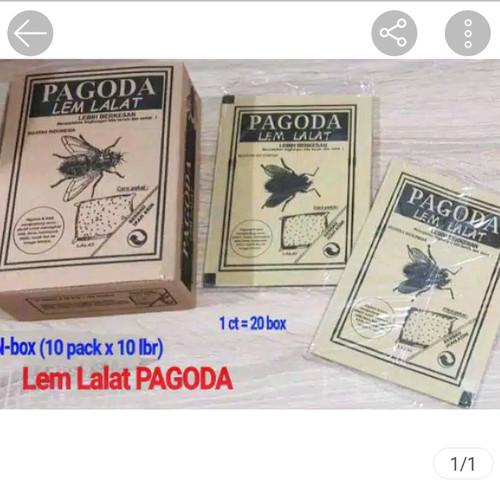 Foto Produk Lem lalat merek PAGODA (DIJAMIN!!! SUPER LENGKET) dari stationariestate