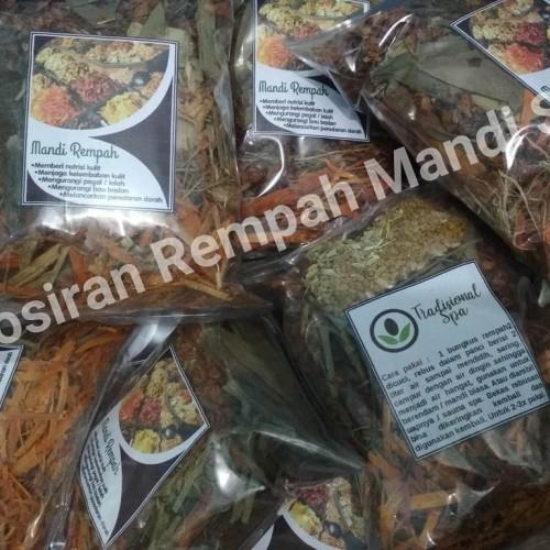 Foto Produk Rempah Mandi Wangi Kemasan Ekonomis. ( Tradisional Spa ). dari new butik herba
