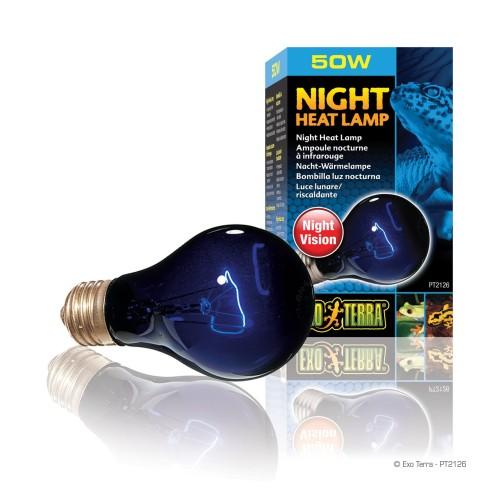 Foto Produk Exoterra Night Lamp 50 W / Lampu Malam Hari / Lampu reptil Nocturnal dari House of Exo Pet
