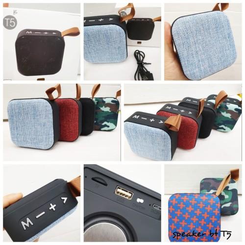 Foto Produk Speaker Mini Portable Wireless Speaker Bluetooth T5 dari fusion21
