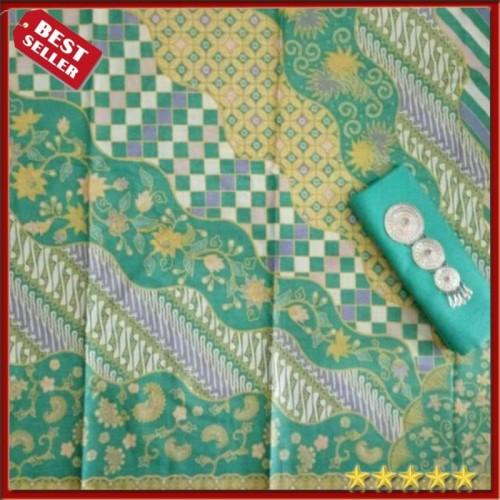 Foto Produk KAIN BATIK BURUNG SOGAN/KAIN BATIK PEKALONGAN/KAIN SOLO/BATIK TULIS/SU - Kuning, Kain Batik dari pikupiku shop
