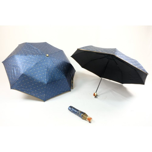 Foto Produk Payung Lipat 3 Korea Sutra Anti UV List Emas dari JCbrella