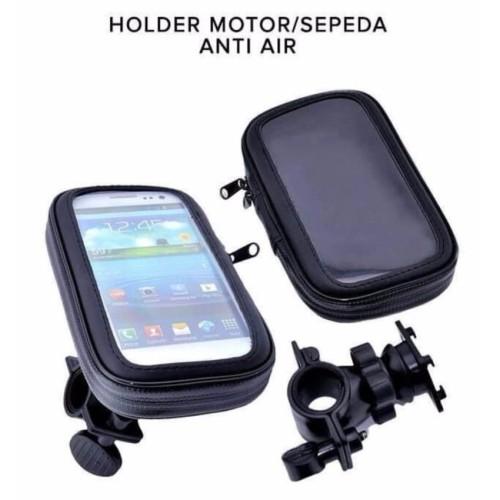 Foto Produk Holder Hp Waterproof 6.0 Stang Motor - Bracket Grip Phone Gojek Grab dari Akochi Store