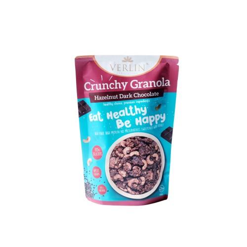Foto Produk Crunchy Granola Hazelnut Dark Chocolate dari Verlin Healthy Snack