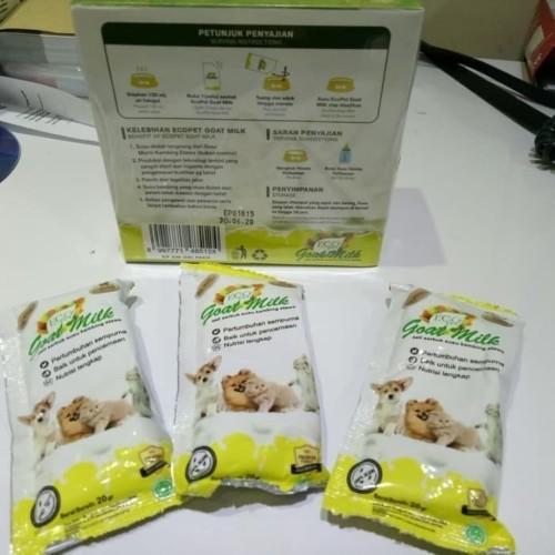 Foto Produk ECO PET GOAT MILK 1BOX/SUSU KUCING/ANJING/KAMBING ETAWA 1 BOX dari Kinarian petshop