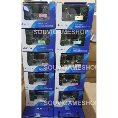 Foto Produk Stick / Stik / Controller PS4 / PS 4 Green Camo / Army (New Model) dari souvigameshop