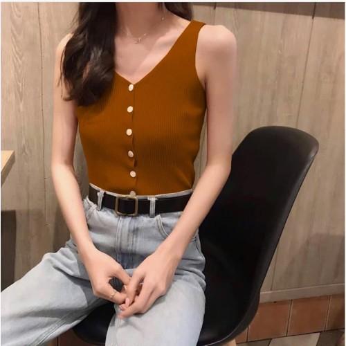 Foto Produk Nna SINGLET RAJUT VALEN blouse atasan top pakaian wanita dari snd collection jakarta