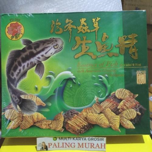 Foto Produk Essence Of Fish With American Ginseng-Cordyceps Sari Pati Ikan Gabus dari MULTI KARYA GROSIR