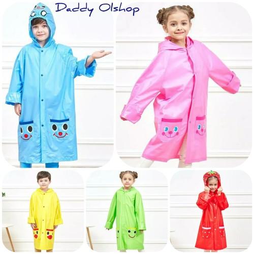 Foto Produk jas hujan anak karakter/jas hujan terusan anak dari Daddy_Olshop