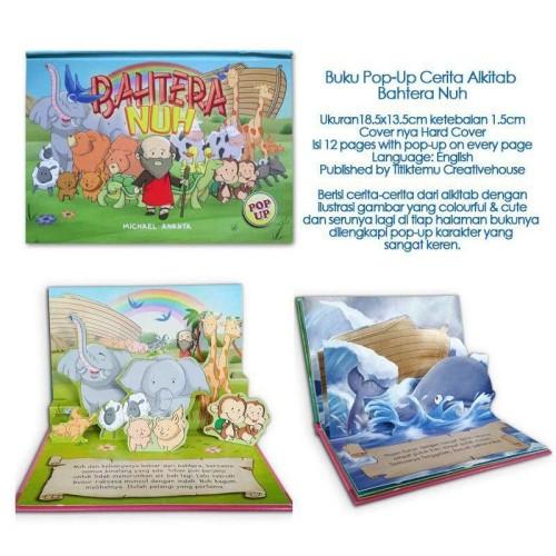 Foto Produk Buku Pop-Up Cerita Alkitab Bahtera Nuh dari HappyBunnyBooks
