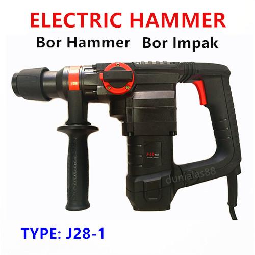 Foto Produk Hammer Drill Mesin Bor Hammer Bor Impak Bobok Beton Tembok Bor Jack dari dunialas88