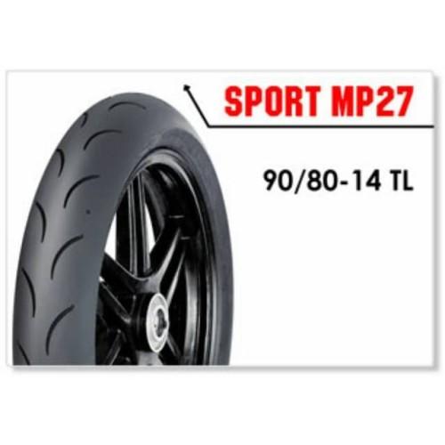 Foto Produk FDR Sport MP27 90/80 Ring 14 Ban Motor Kering Race soft compound MP 27 dari Battery Accu Aki Bandung
