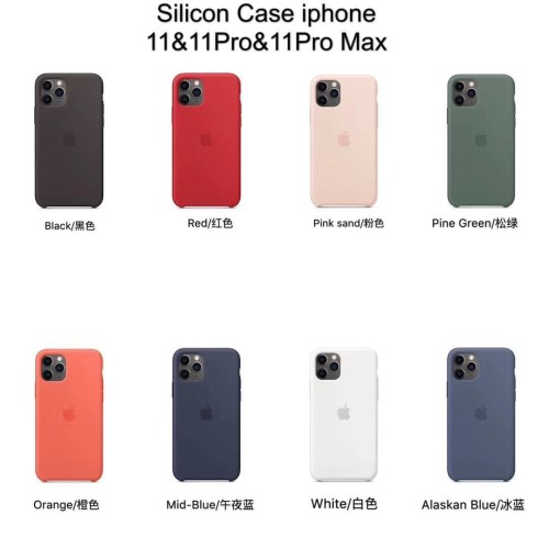 Foto Produk IPHONE 11/ 11 PRO / 11 PRO MAX SILICONE CASE BACK COVER - IPHONE 11 dari Urban Story