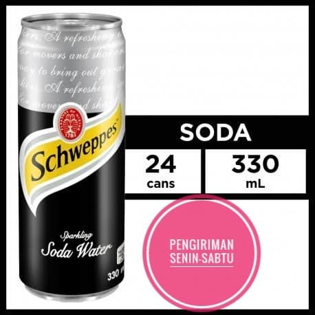 Foto Produk Schweppes soda water dari Hendry's beverage