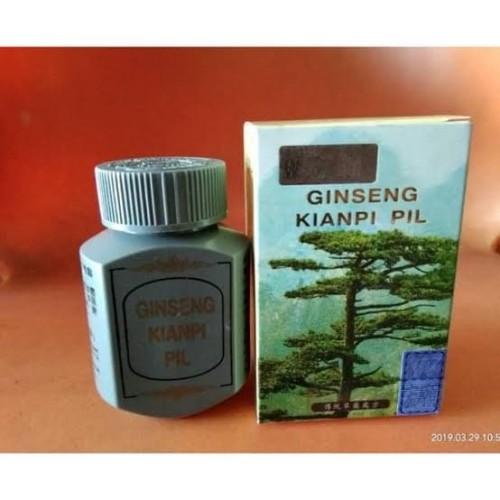 Foto Produk ORIGINAL Ginseng Kianpi Pil Wisdom ( New ) / Penambah Nafsu Makan dari thewingsgrosir