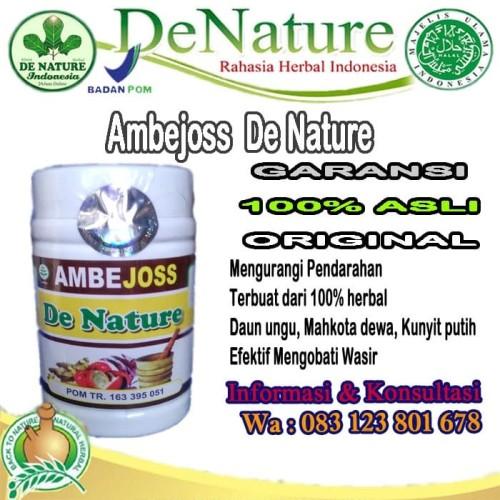 Foto Produk Ambejoss de nature Asli Obat wasir dari deNature obat herbal
