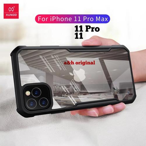 Foto Produk iPhone 11 11 Pro 11 Pro Max - Xundd Shockproof PC TPU Bumper Cover - iphone 11 dari a&h original