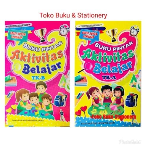 Foto Produk Paket Buku Pintar Aktivitas Belajar TK A & B dari Toko Buku dan Stationery