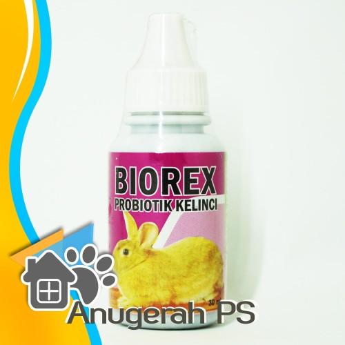 Foto Produk Biorex 30 ml Probiotik Suplemen Penambah Nafsu Makan Kelinci dari Anugerah PS