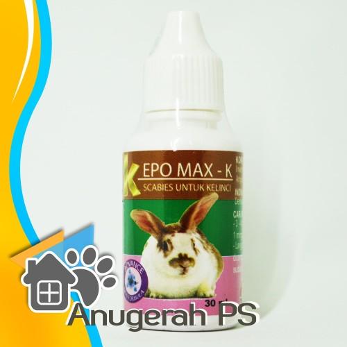 Foto Produk Kepomax K Obat Scabies Kelinci 30 ML dari Anugerah PS