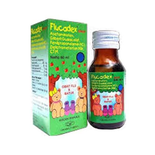 Foto Produk Flucadex Sirup syr syrup obat batuk pilek bayi anak AMPUH dari aptsehatifarma