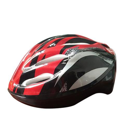 Foto Produk Helm Sepeda Inline Skate Dewasa MTB Gunung Lipat PVC Foam Speeds 026-3 - Merah dari lbagstore