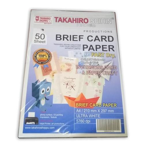 Foto Produk Kertas Brief Card 160 Gsm dari TAKAHIRO SHOPPU