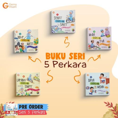 Foto Produk Buku Cerita Anak Islam Seri 5 Perkara dari bukulaku.id