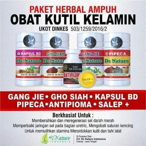 Foto Produk Obat Daging Tumbuh Seperti Kutil Di Kelamin ( Paket 2) dari Klinik Herbal Denature