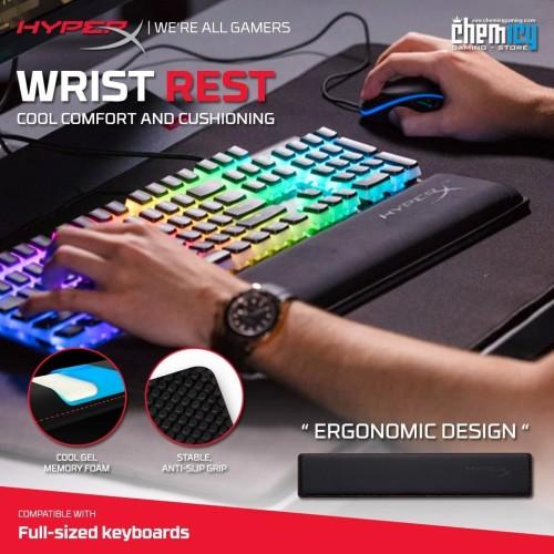 Foto Produk HyperX Wrist Rest Cool Gel Memory Foam for Gaming Keyboard dari Chemicy Gaming
